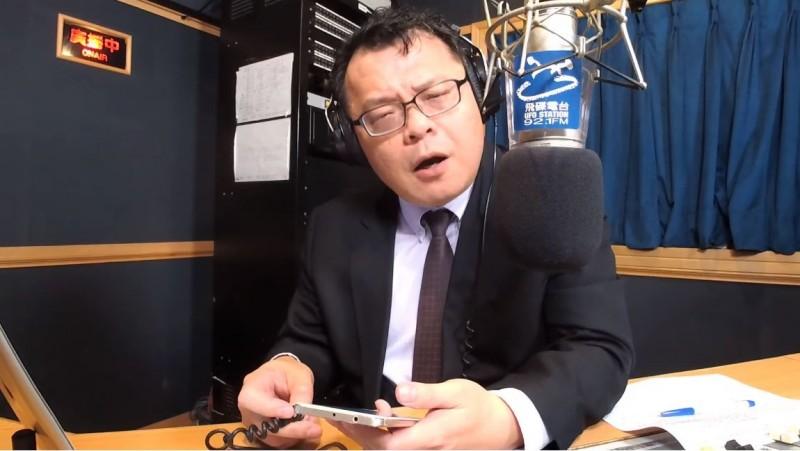 挺韓名嘴陳揮文認為,韓國瑜留在高雄幹嘛?不解韓國瑜有必要對高雄這麼好嗎?(圖擷取自《飛碟晚餐 陳揮文時間》YouTube)
