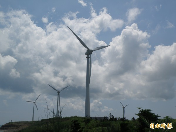 據科學家的預測,全世界139國,到了2050年左右,能夠發展出完全依靠風力、水力和太陽能發電的能源系統。(資料照,記者劉禹慶攝)