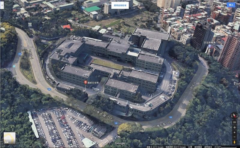 國安局。(圖擷取自Google地圖)