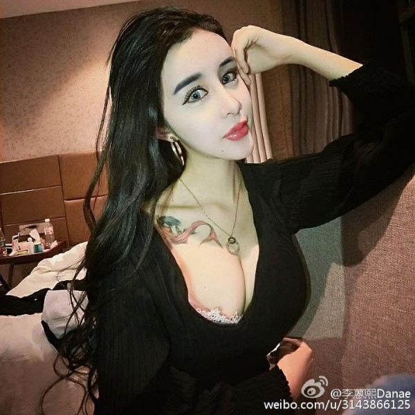 許多人到她的微博攻擊她,但李蒽熙仍樂觀看待。(圖擷取自微博)