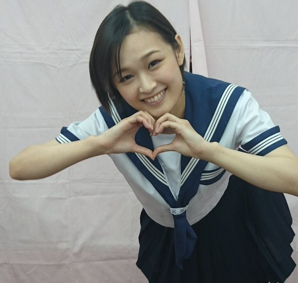 AV女優「竹内真琴」。(圖擷自twitter)