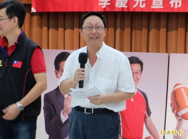 曾幫助柯文哲打選戰的「軍師」林錦昌加入民進黨選對會當顧問,姚立明認為這是民進黨「硬的一手」。(資料照,記者盧姮倩攝)