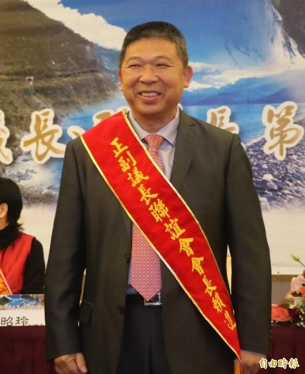 國民黨籍花蓮縣議會前議長賴進坤。(資料照,記者王錦義攝)