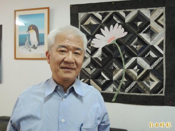 前新竹市長蔡仁堅去年登記參選新竹市長,被民進黨中央評議委員會以「違紀參選」為由撤銷黨籍。(資料照,記者洪美秀攝)