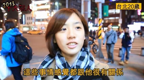 今日有網友尋到「學姊」黃瀞瑩20歲的青澀模樣。(圖擷取自YouTube影片)