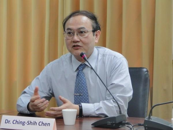 中研院前特聘研究員陳慶士。(圖擷取自成功大學網站)