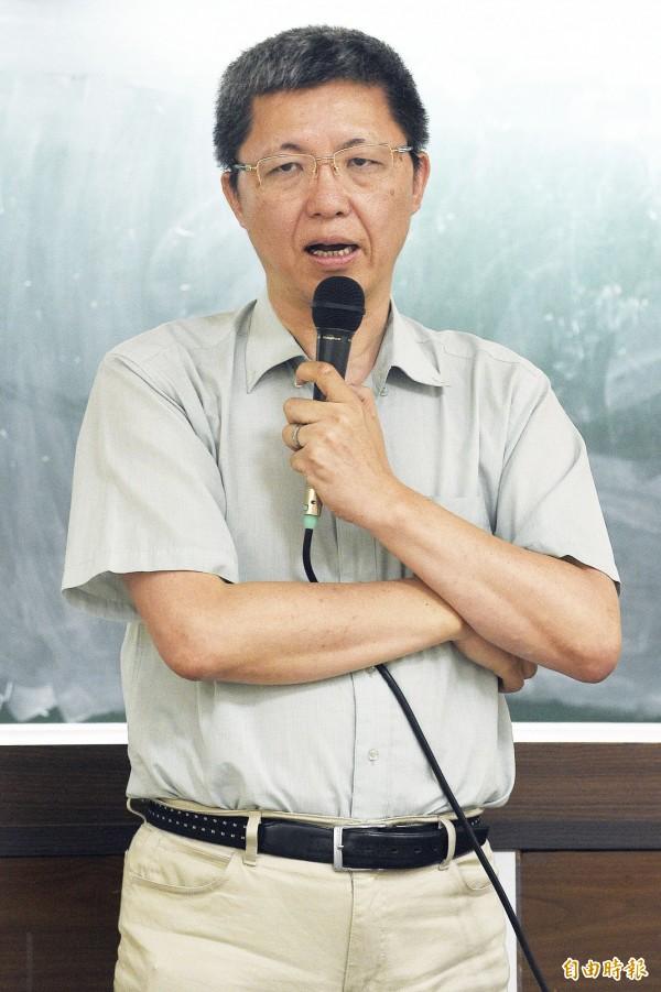 高中課綱審核小組成員謝大寧教授。(資料照,記者陳志曲攝)