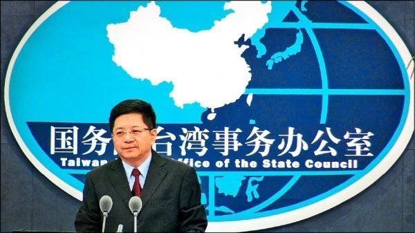 國台辦發言人馬曉光今對東奧正明公投未過關發表看法,直言:「搞台獨注定失敗。」(中央社)