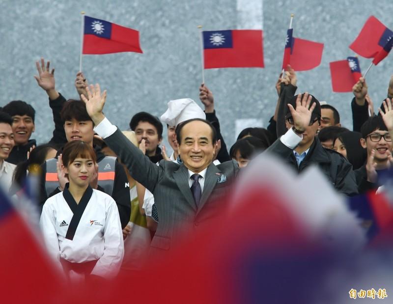對於韓國瑜表示會做滿4年市長任期,4月不會領表登記總統初選,王金平表示尊重。圖為王金平日前宣布參選2020總統大選。(資料照,記者方賓照攝)