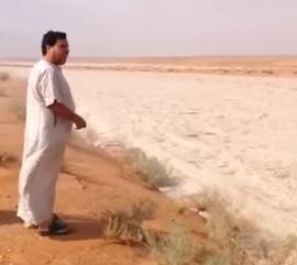 伊拉克「沙河」奔流奇觀影片全球...