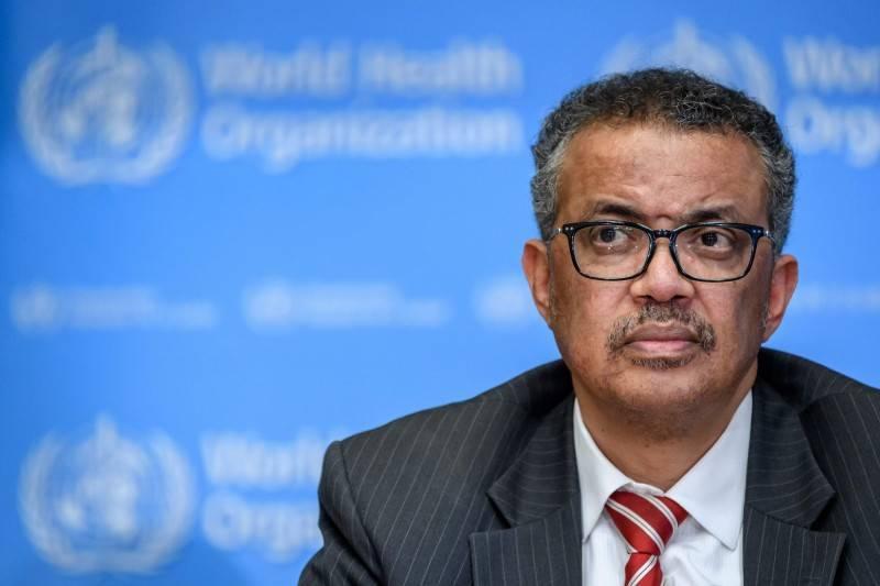 WHO傳出有65名員工確診,秘書長譚德塞竟還在對疫苗開發潑冷水。(法新社)