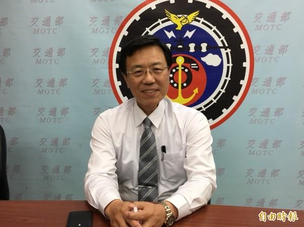交通部政務次長張政源將接任台鐵局長。(資料照)