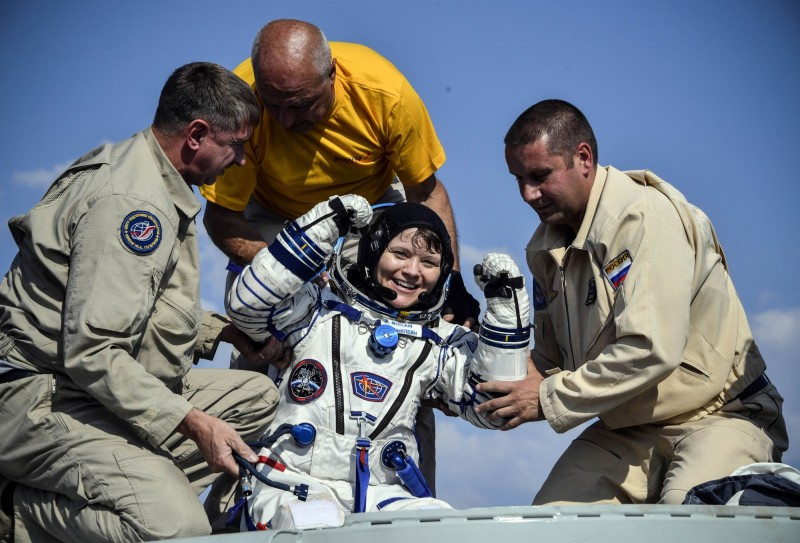 NASA女太空人麥克萊恩(Anne McClain),涉嫌在國際太空站期間未經分居伴侶同意就登入對方銀行帳戶查看。(路透)