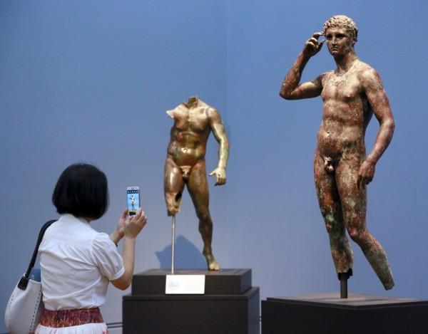 美國博物館不服義大利最高法院裁決要將「勝利青年」歸還義大利。(美聯社)