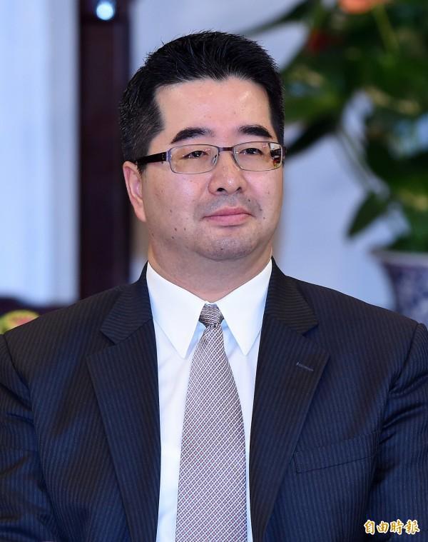 政權交接幕僚作業聯繫窗口,國民黨則為總統府副秘書長蕭旭岑。(資料照,記者廖振輝攝)