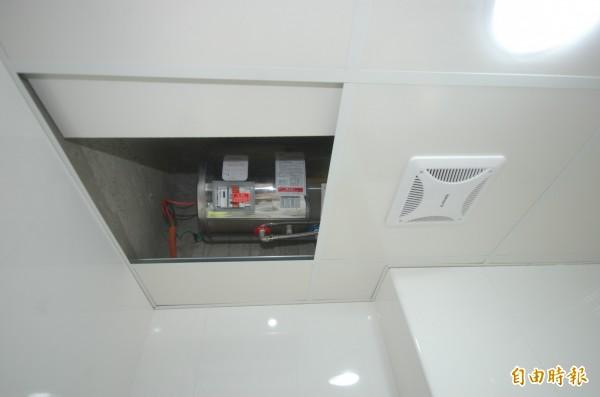 貯備型電熱水器示意圖。(資料照,記者林耀文攝)