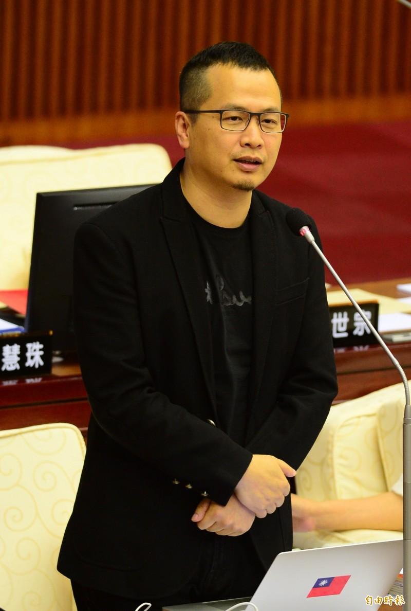 羅智強在臉書向館長下戰帖,邀請他來辯論。(資料照)