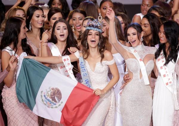 墨西哥小姐首次奪下世界小姐比賽冠軍。(路透)