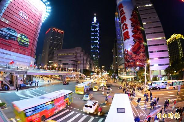 台北一景。(資料照,記者王藝菘攝)