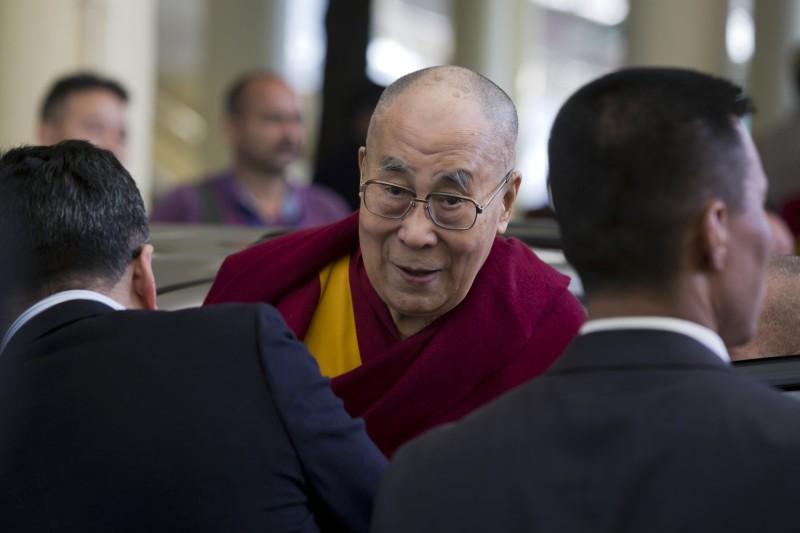 圖為西藏精神領袖達賴喇嘛。(美聯社)