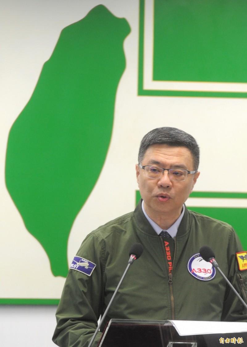 民進黨主席卓榮泰質疑,韓國瑜以發財為由引共資入台、見港澳特首為一國兩制擦脂抹粉。(資料照)
