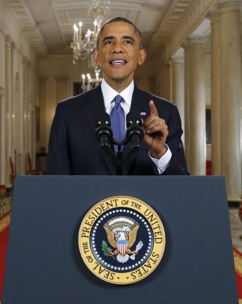 美國總統歐巴馬。(路透)