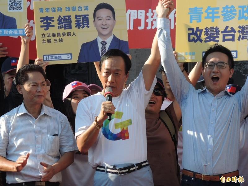 被視為郭家軍的李縉穎今天被國民黨開除黨籍。(資料照)