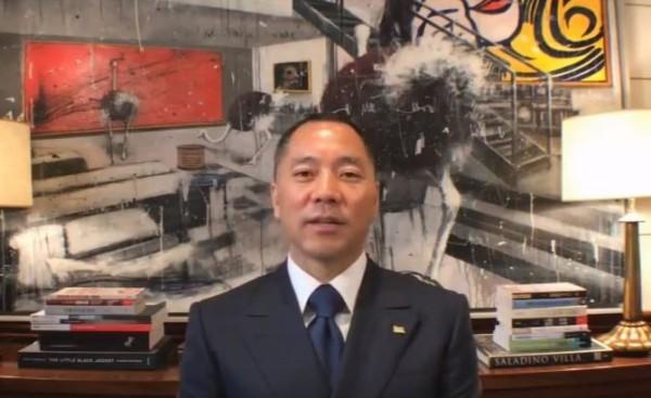 郭文貴爆料王岐山性愛醜聞。(圖取自YouTube)