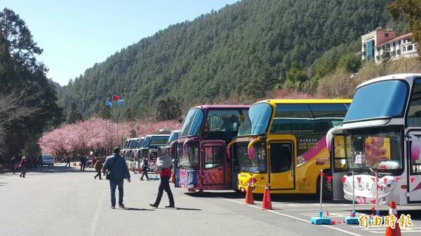 面對即將來臨的228連續假期,交通部觀光局、公路總局將針對旅遊產品、遊覽車、駕駛採取6項措施讓消費者安心出遊。(資料照,記者歐素美攝)