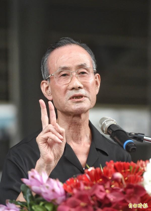 台北市長柯文哲去年接受專訪時批評遠雄董事長趙藤雄(見圖),遭到趙藤雄提告求償200萬。(資料照,記者方賓照攝)