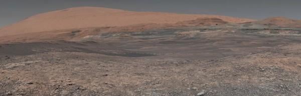 「洞察號」預計將探索火星赤道以北的埃律西昂平原。(美聯社)