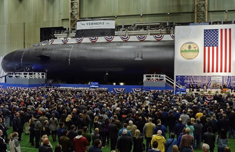 美軍預計在2024年財政年度打造第6批次維吉尼亞級核潛艦,負責人表示這將是最隱密、最致命的攻擊潛艇。圖為維吉尼亞級核潛艦「佛蒙特號」(USS Vermont,SSN-792)。(美聯社)