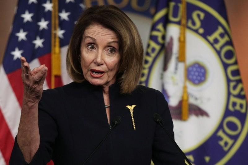 美眾院議長裴洛西(Nancy Pelosi)。(法新社)