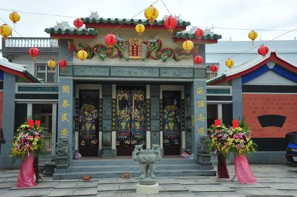 地方集資近千萬元重建城隍廟。(記者蔡宗憲攝)