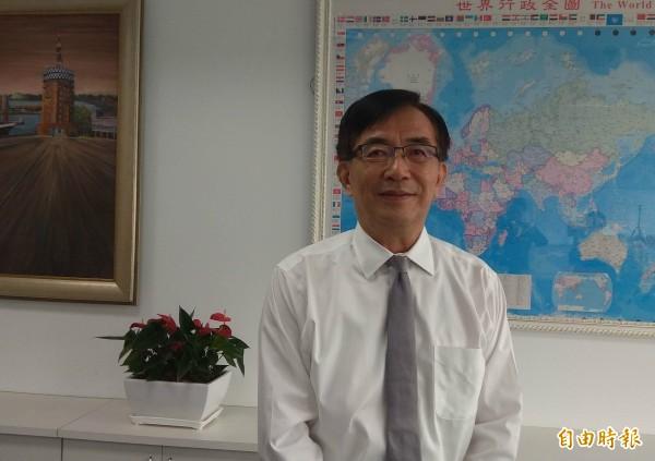 新任交通部長吳宏謀說,前瞻、道安、觀光,是他上任後首要處理項目。(記者洪定宏攝)
