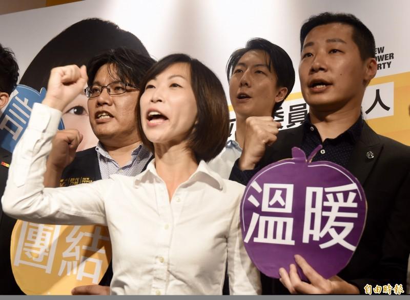 北市松信選區立委參選人陳雨凡今表示,台灣民主不能只靠理論,必須要建立在「互信」基礎之上。(資料照)