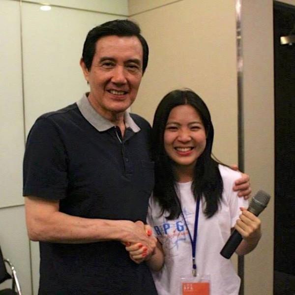 徐巧芯是現任的前總統馬英九發言人。(圖擷取自徐巧芯臉書頁)