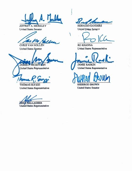 美國13名跨黨派議員更連署提名遭到中國政府監禁的維吾爾族學者伊力哈木.土赫提為諾貝爾和平獎候選人。(擷取自美國參議員Marco Rubio網站。