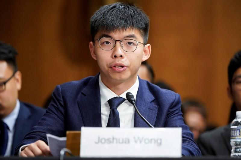黃之鋒表示,香港「50年不變」政策到期之時,其實比想像中更近。(路透)