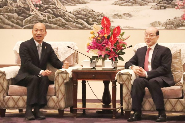 《TAIPEI TIMES》 Han reiterates support for 'consensus'