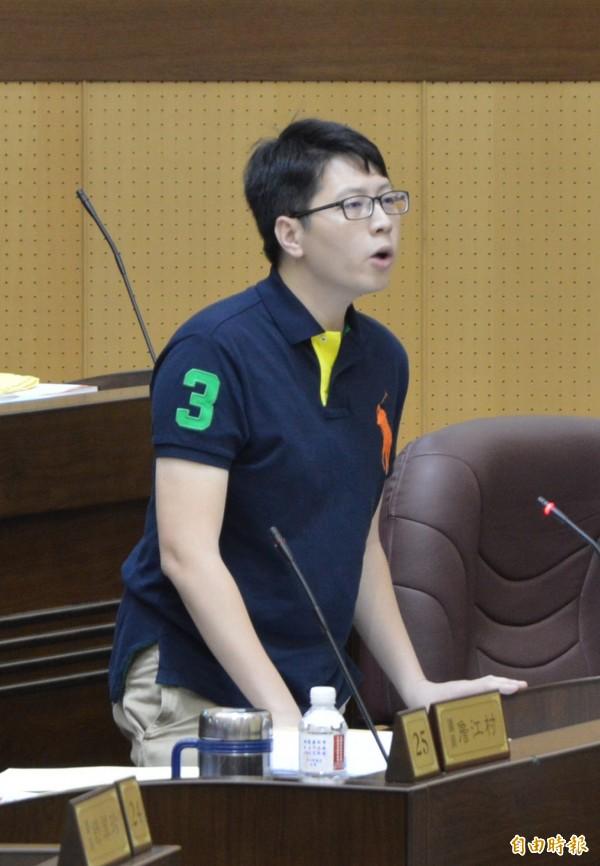 王浩宇提出抗議,要求武陵高中校長立刻公開跟全校學生道歉。(資料照,記者謝武雄攝)