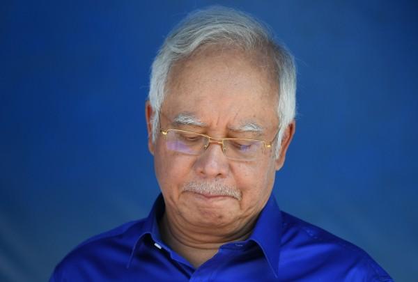 現任首相納吉布(Najib Razak)任內捲入多宗醜聞。(法新社資料照)