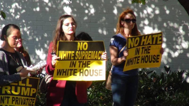 白人至上與仇恨消弭,種族對立的促成與消解。(中央社)