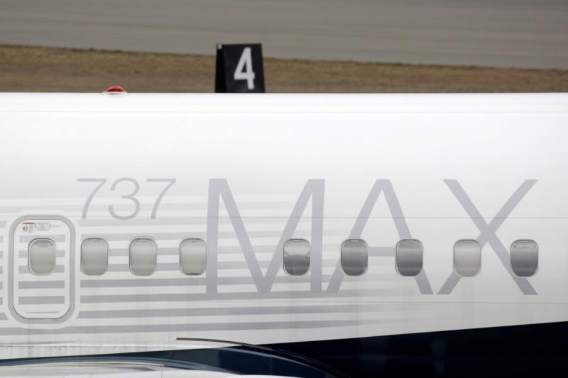 波音公司指出,將在未來幾週對停飛的737 MAX客機進行軟體升級。(路透)
