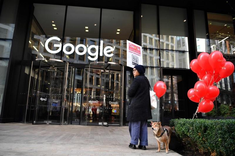 有消息人士爆料,Google的「蜻蜓計畫」還在持續進行中,且日前正在為重返中國一事進行績效評估。(法新社)