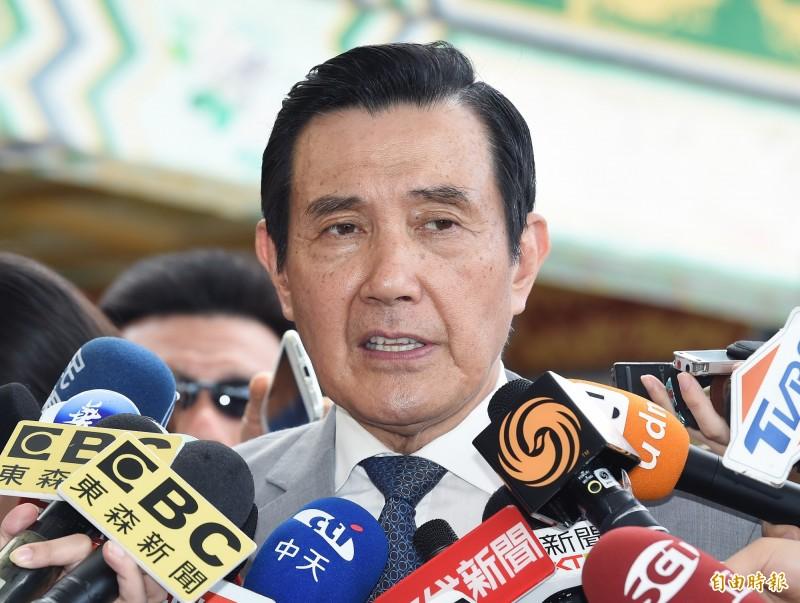 台灣高等法院更一審今判決馬英九被控洩密案無罪,馬辦回應,本案審理兩年多來,檢察官對於馬英九構成犯罪的具體行為事實為何,始終沒說清楚,明顯就是先射箭再劃靶。(資料照)