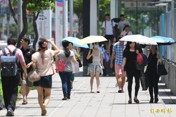 熱浪導致的死亡人數未來恐大幅增長。(資料照)