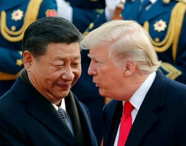 北韓領導人今(8)日秘密與中國首領習近平見面,美國總統川普於清晨發布推文表示,今日早上8點半將與「朋友」習近平通電話。(美聯社)