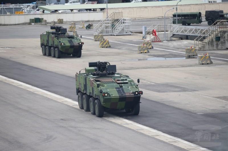 雲豹甲車。(軍聞社提供)