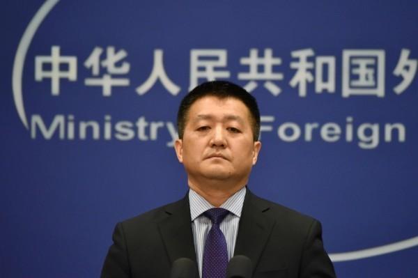 中國外交部發言人陸慷指出,「一個中國原則是國際社會人心所向」。(法新社)